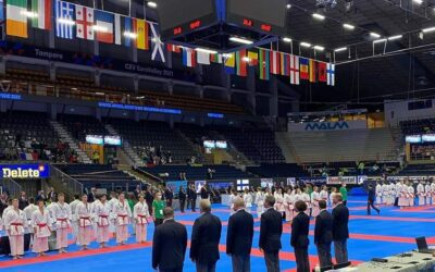 TED Center took part in hosting EURO Karate Championship in Tampere