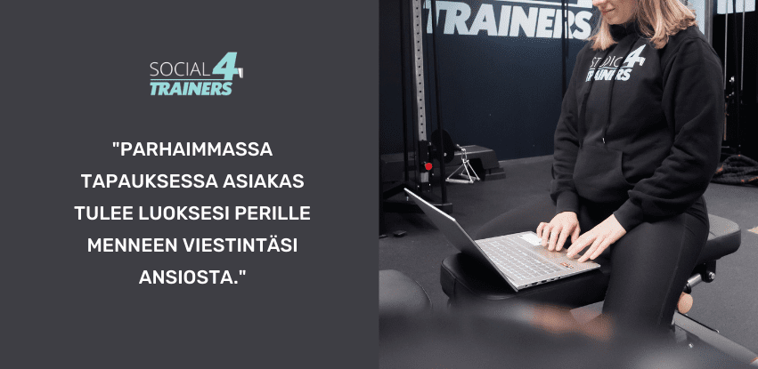 personal trainer viestintä social4trainers