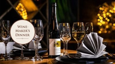 29th February Winemaker's Dinner – Spanish wines
