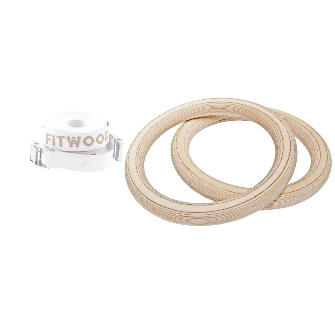 ADULT GYM RINGS Wooden gym rings