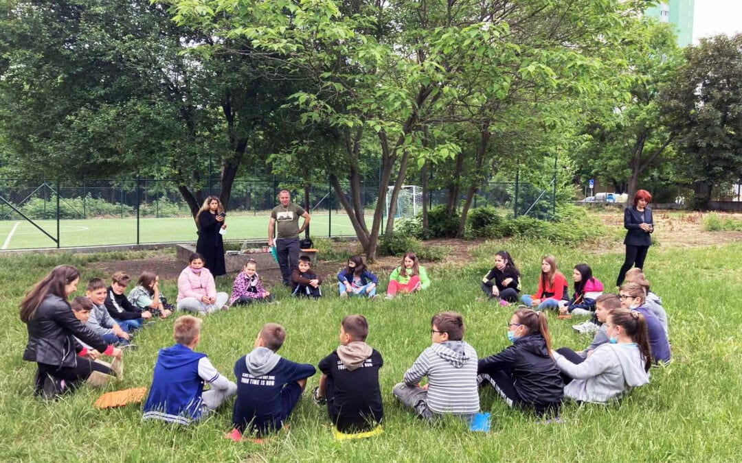 Children from Burgas played and learned about wild animals
